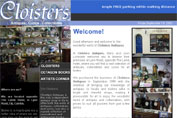 Click to enter the website of Cloisters Antiques