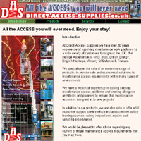 Click to enter the website of Direct Access Supplies